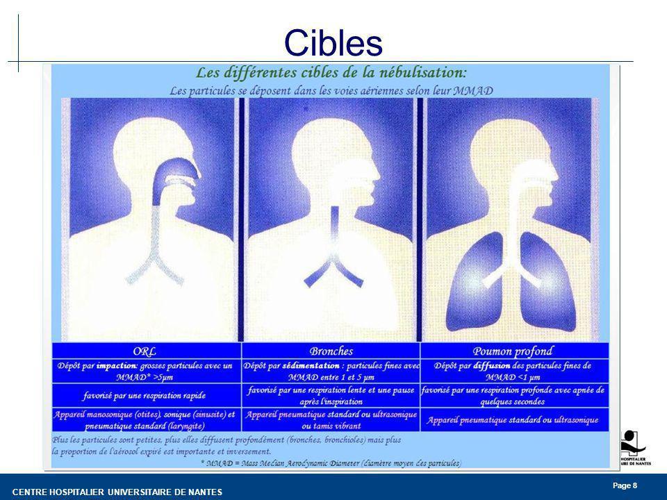CENTRE HOSPITALIER UNIVERSITAIRE DE NANTES Page 8 Cibles