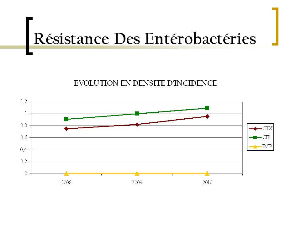 Résistance Des Entérobactéries
