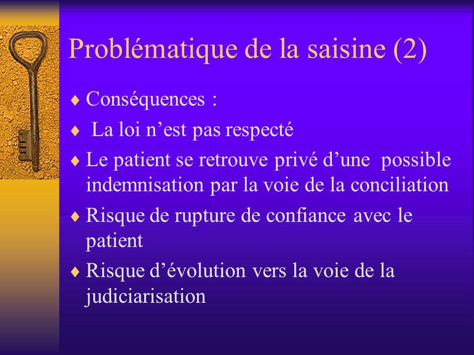 Problématique de la saisine (3) Une approche éthique de cette problématique permet t-elle de proposer des solutions pour améliorer la pratique de linformation donnée au patient ?
