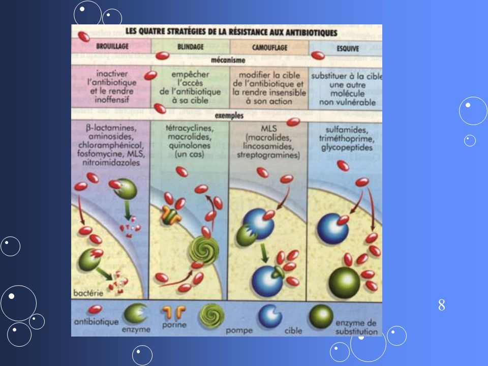 9 B-lactamines Pénicillines : - Pénicilline G et V - Pénicilline M : méthicillne, oxacilline,cloxacilline - Pénicilline A : amoxicilline, ampicilline - Pénicilline inhibiteur de B-lactamase : acide clavulanique - Autres: uréidocilline, carboxycilline, monobactam, carbapénem Céphalosporines : - C1G : céfalotine - C2G : cefuroxime, céfamandole - C3G : cefotaxime, ceftriaxone, ceftazidime - C4G : cefepime, cefpirome Aminosides kanamycine, tobramycine, gentamicine, amikacine Cyclines tétracycline, tigécycline, doxycycline Glycopeptides vancomycine, teicoplanine Quinolones - 1ere G : acide nalidixique - 2eme G : péfloxacine, norfloxacine,ofloxacine, ciprofloxacine - 3eme G : lévofloxacine, moxifloxacine MLSK - Macrolides: érythromycine - Lincosamides: lincomycine, clindamycine - Streptogramines: A: quinupristine B: dalfopristine A+B : pristinamycine - Kétolides : télithromycine Autres ATB Ac fusidique, fosfomycine, rifamycine, sulfamides, trimétoprime, nitro- imidazolés, chloramphénicol, colistine, nitrofurantoïnes, mupirocine, linézolide,daptomycine Stage antibiogramme: module de base par Magali Jimenez
