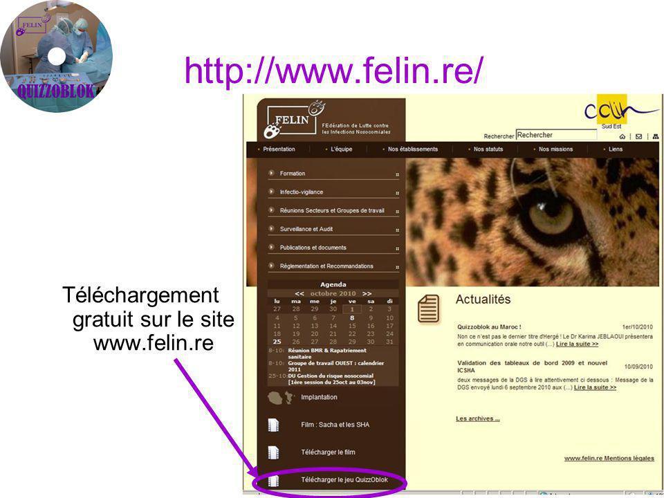 http://www.felin.re/ Téléchargement gratuit sur le site www.felin.re
