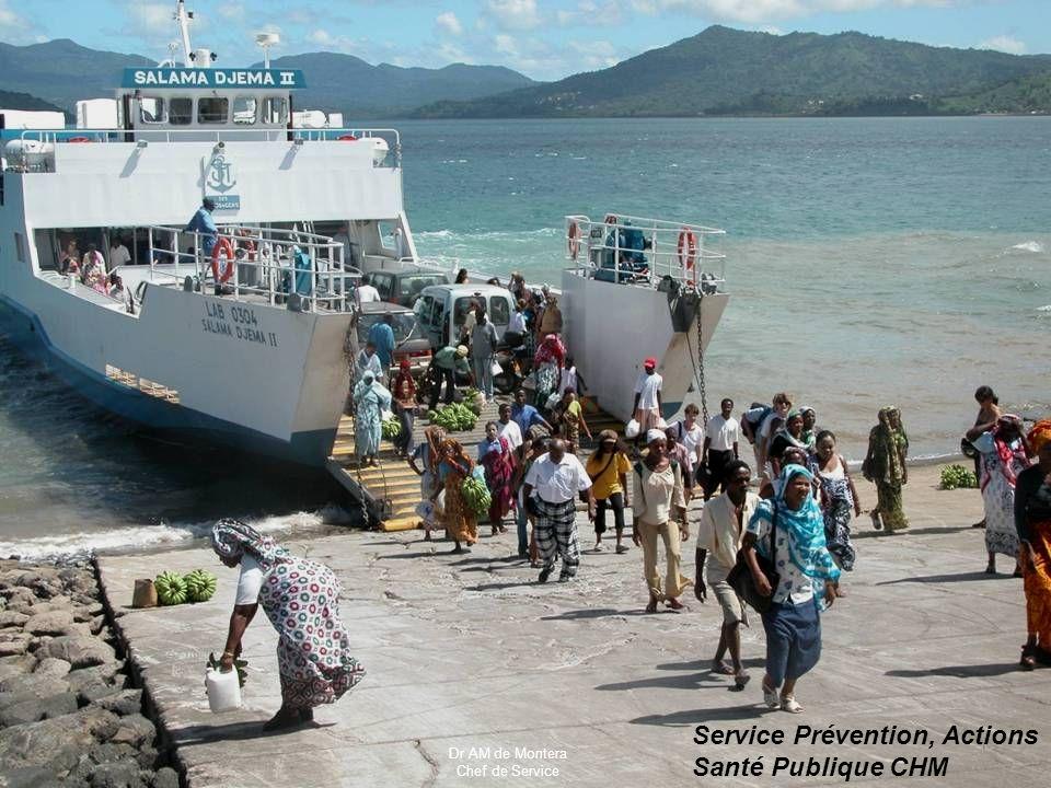 CLAT de Mayotte PRINOI 23 avril 2010 Service Prévention, Actions Santé Publique CHM Dr AM de Montera Chef de Service