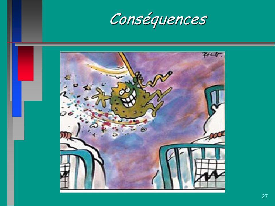 27 Conséquences