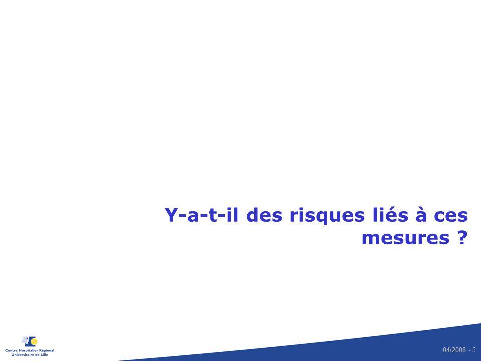 04/2008 - 16 Intérêt du dépistage de SARM Lucet JC et al.