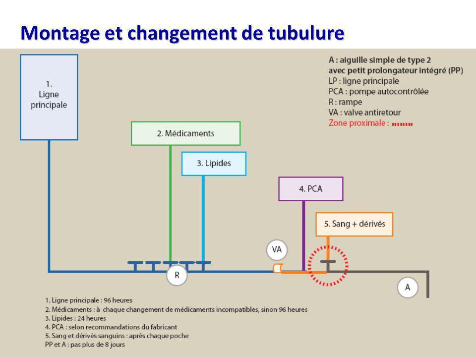 Centre de coordination Sud-Est de la lutte contre les infections nosocomiales & associées aux soins Montage et changement de tubulure