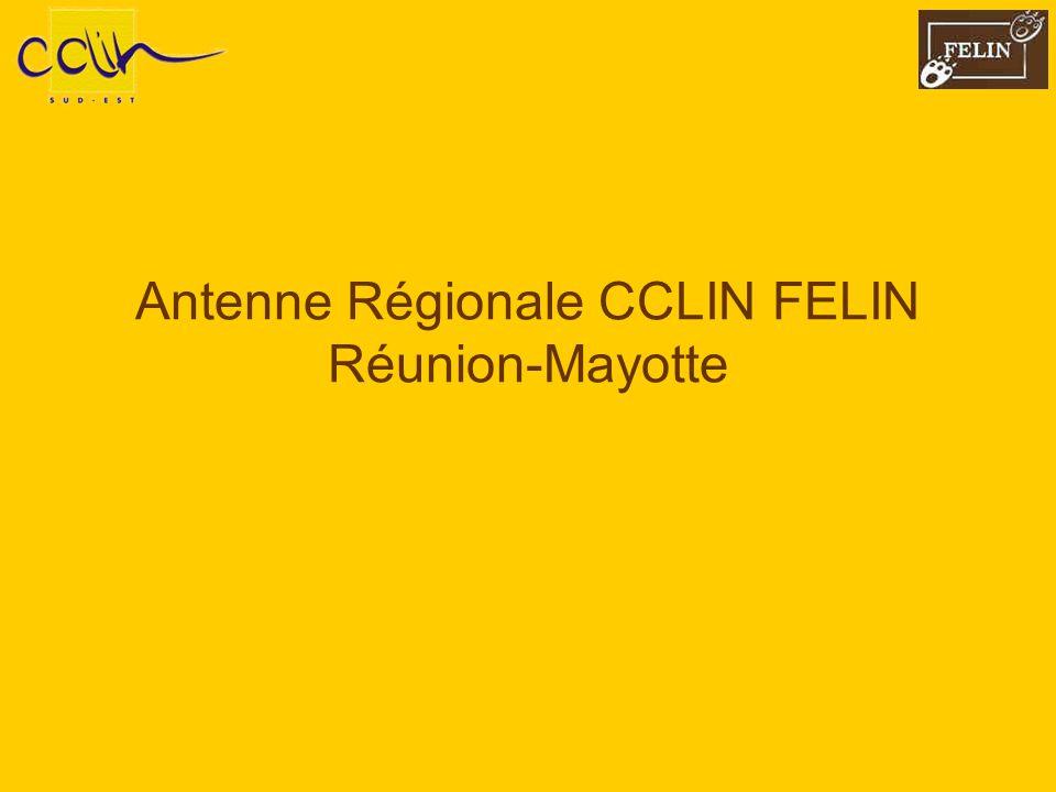 Antenne Régionale CCLIN FELIN Réunion-Mayotte