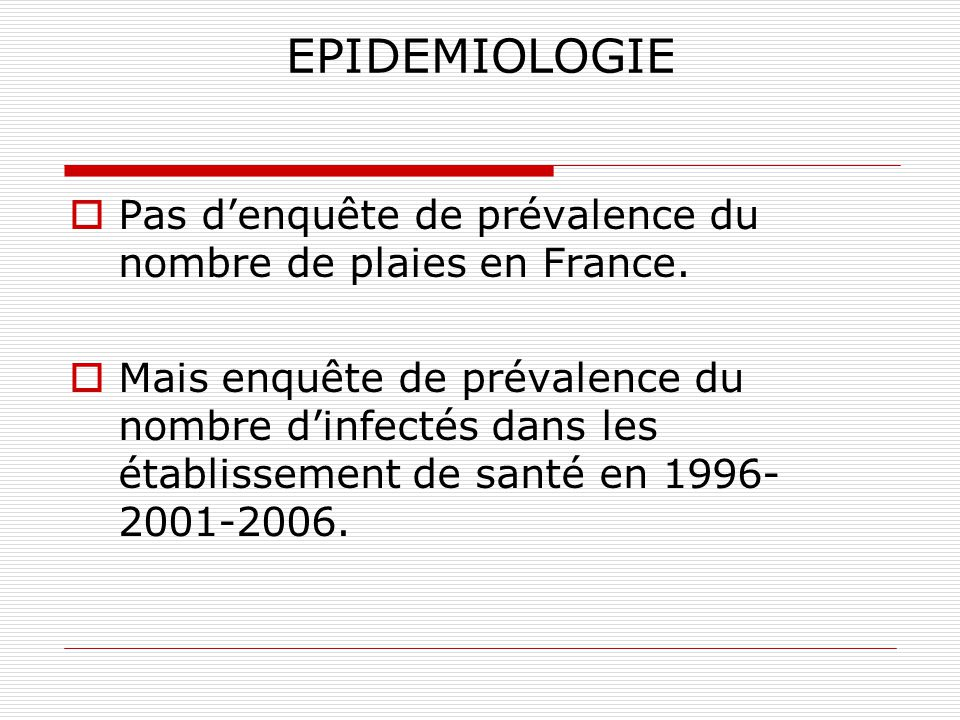 LE PLAN EPIDEMIOLOGIE DEFINITIONS Infection-infection nosocomiale-IAS-colonisation MECANISME DE L INFECTION Les germes en causes- BMR PREVENTION Préca