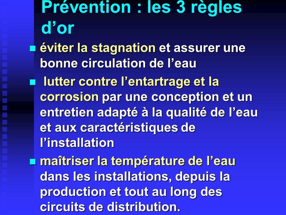 Prévention : les 3 règles dor éviter la stagnation et assurer une bonne circulation de leau éviter la stagnation et assurer une bonne circulation de l