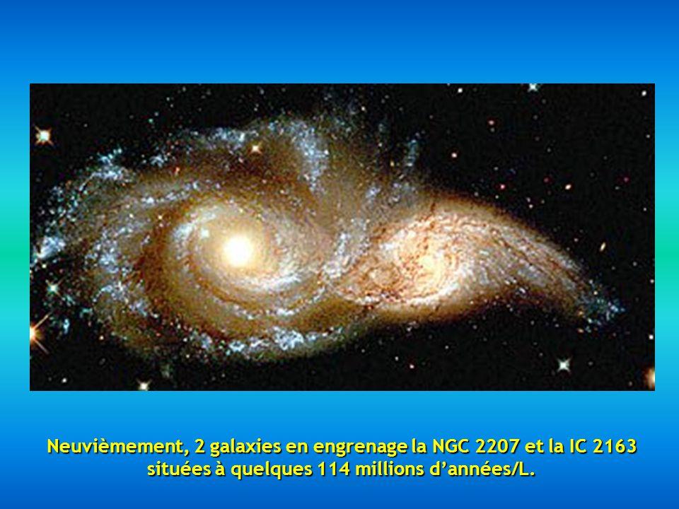 Huitièmement, cette image est appelée Nuit étoilée