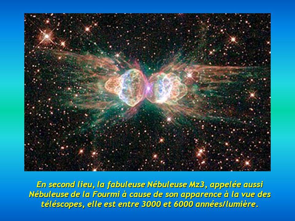 En premier lieu, la Galaxie du Chapeau, appelée aussi M 104 dans le catalogue Messier, à une distance denviron 28 millions dannées/lumière, cest la meilleure photo prise par Hubble.