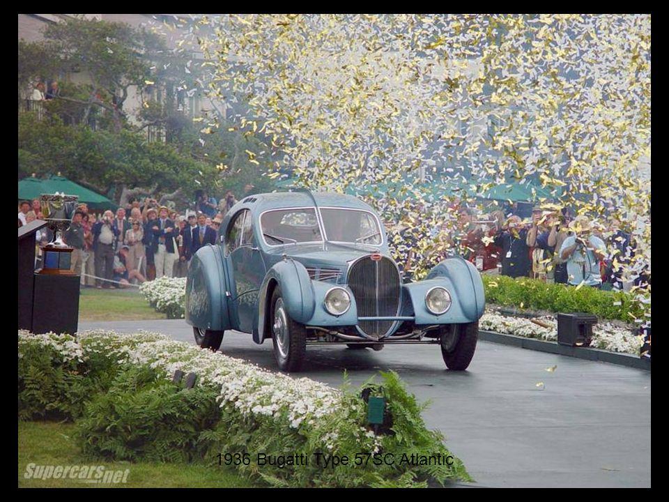 1936 Bugatti Type 57SC Atlantic