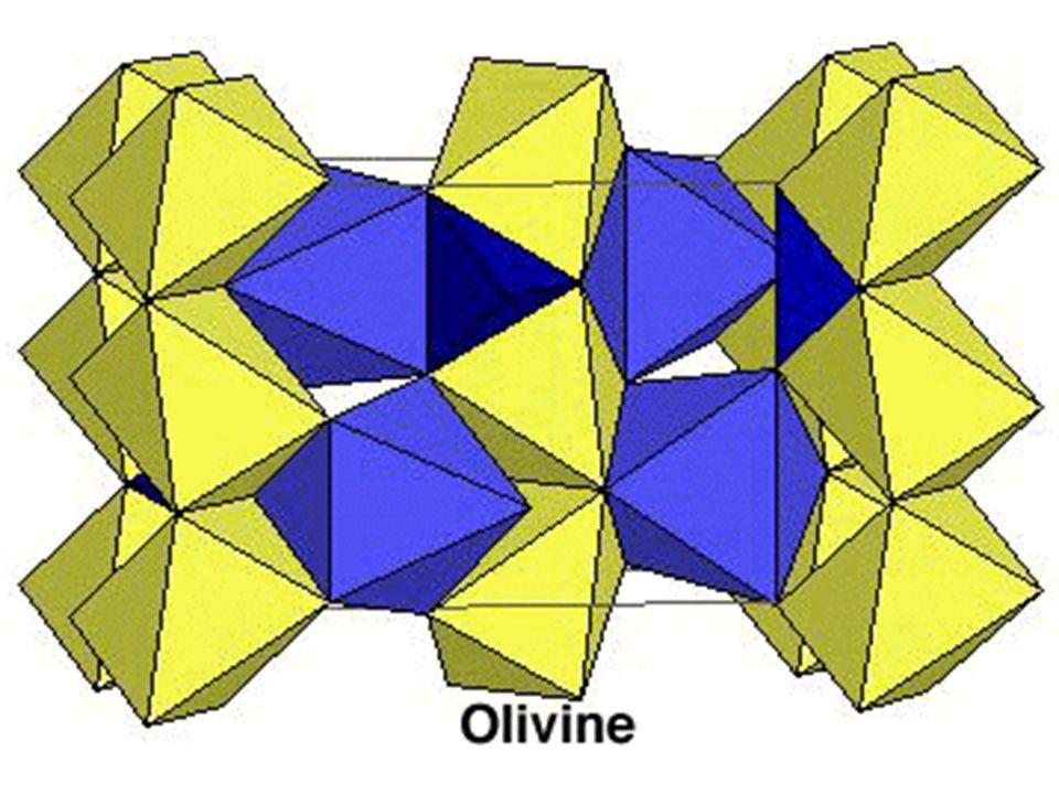 Structure de lolivine