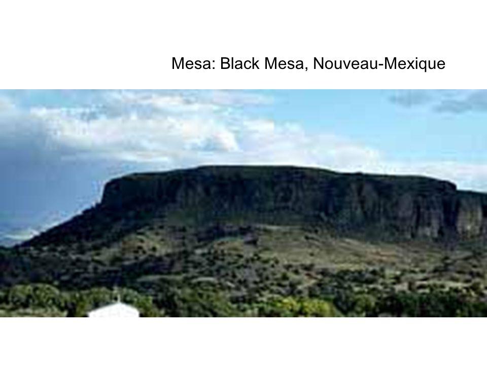 Mesa: Black Mesa, Nouveau-Mexique