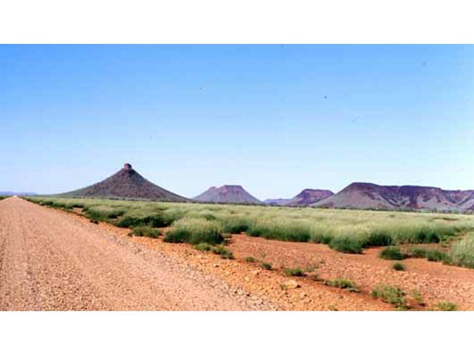 Buttes-témoin, Australie de l'ouest
