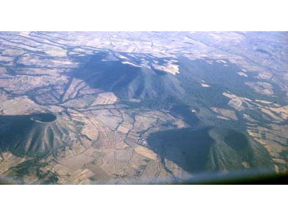 Édifice volcanique Mexique