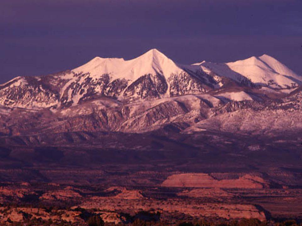 La Sal Mountains Utah