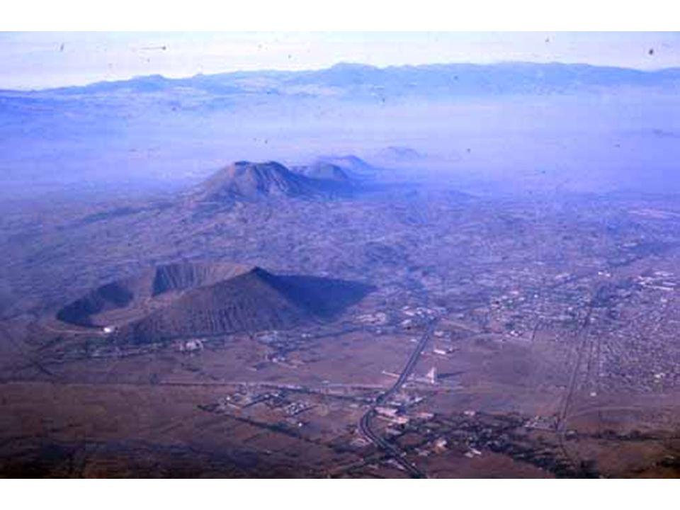 Alignement d'édifices Mexique