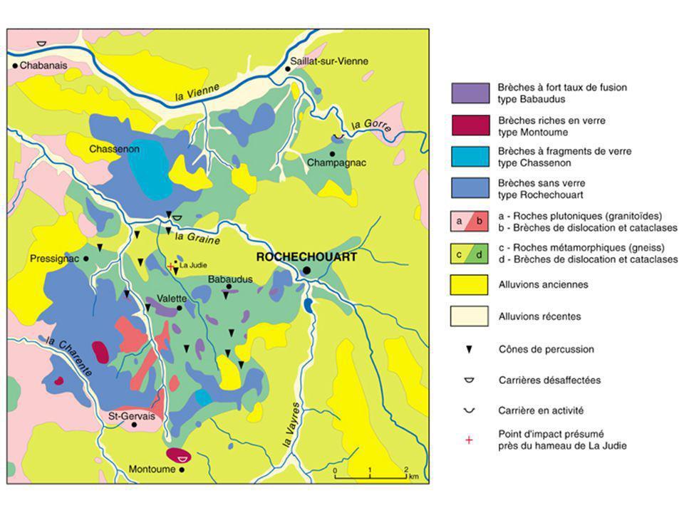 Exercice n° 6 : Carte géologique