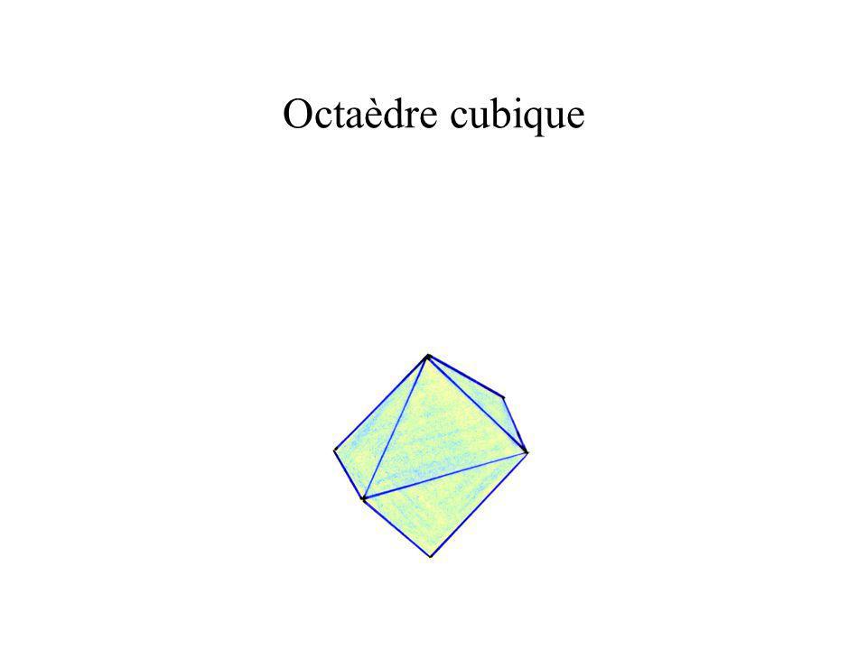 Octaèdre cubique