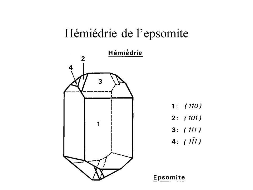 Hémiédrie de lepsomite
