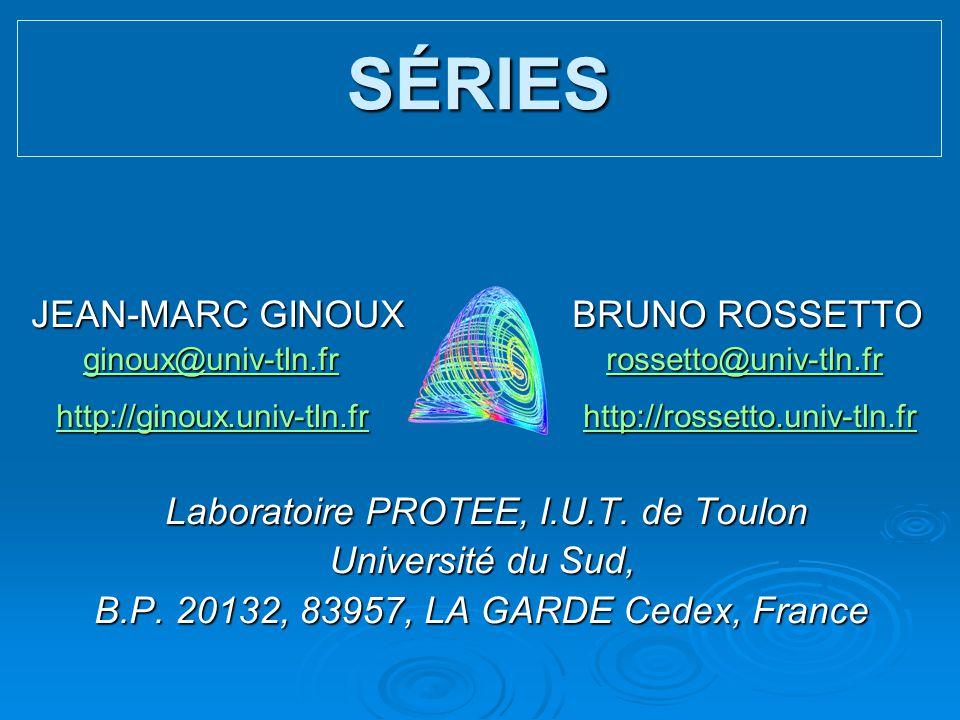 JEAN-MARC GINOUX BRUNO ROSSETTO JEAN-MARC GINOUX BRUNO ROSSETTO ginoux@univ-tln.fr rossetto@univ-tln.fr ginoux@univ-tln.fr rossetto@univ-tln.frginoux@