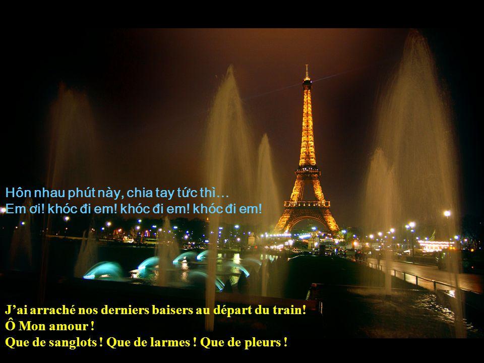 Lên xe tin em đi, chưa bao gi bun th! Tri mùa Đông Paris, sut đi làm chia ly… Taccompagner à la Gare na jamais été aussi triste ! Paris en hiver nétai