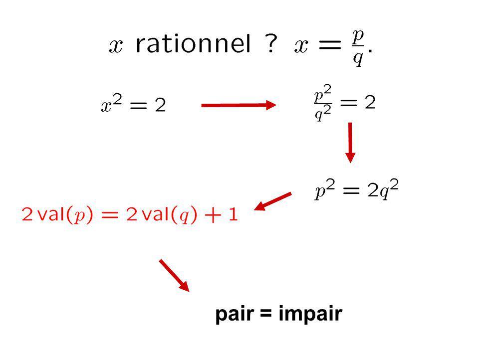 pair = impair