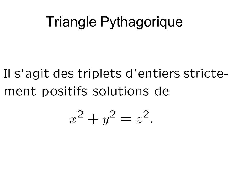 Triangle Pythagorique