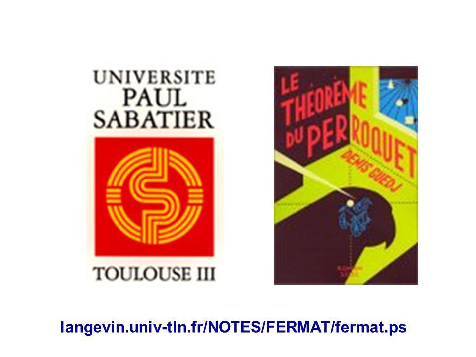 langevin.univ-tln.fr/NOTES/FERMAT/fermat.ps