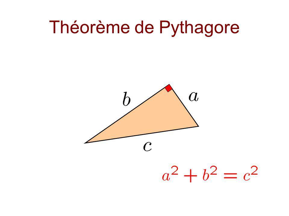 Remarques et Premières interrogations Classification des triangles pythagoriques, par classe de similitude.