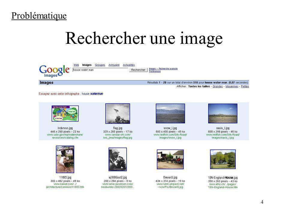 4 Rechercher une image Problématique