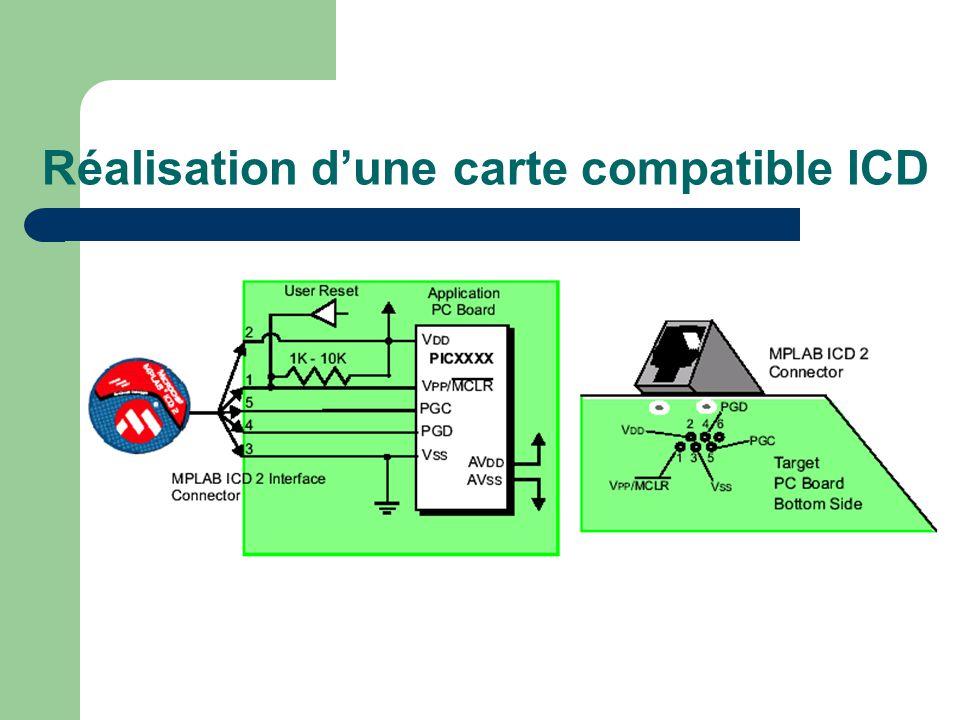 Réalisation dune carte compatible ICD