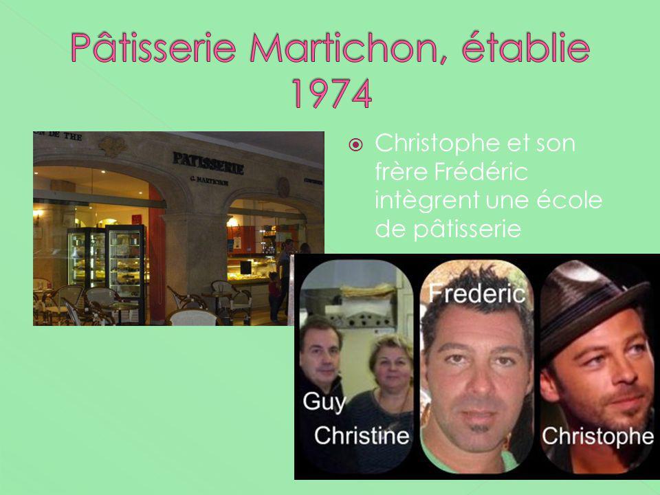 Christophe et son frère Frédéric intègrent une école de pâtisserie