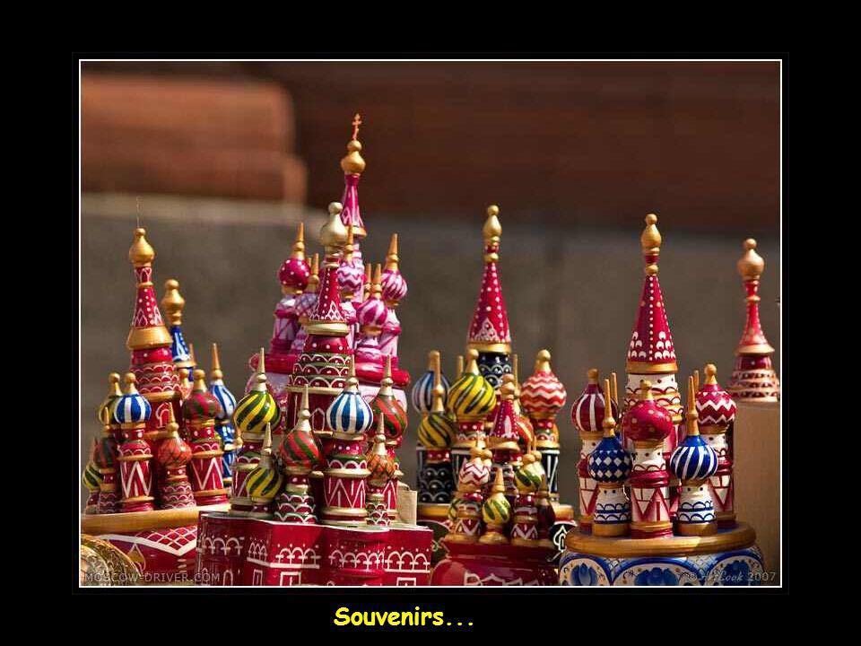 Lautoberge longeant la Moscova