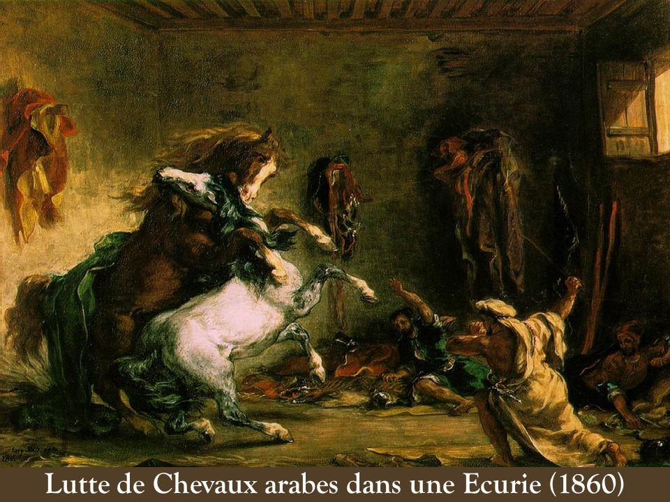 La Chasse au Lion (1860)