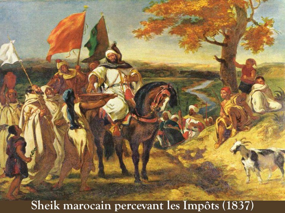 La nature et les animaux dAfrique captent aussi limagination du peintre, ses études danatomie pendant le voyage linspireront pour Arabe sellant son Ch