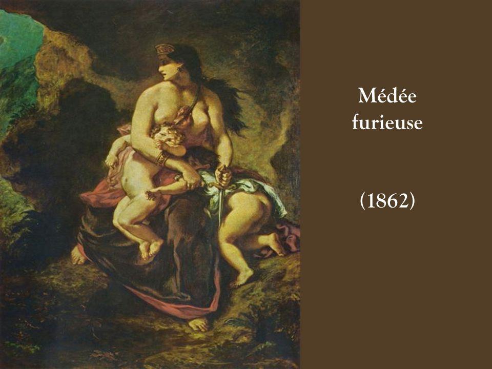 Lutte de Jacob et de lAnge (Fresque) (1861)