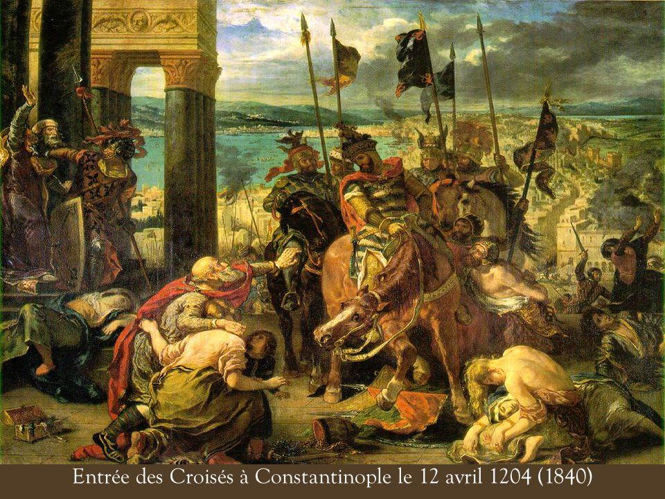 Entrée des Croisés à Constantinople le 12 avril 1204 (1840)