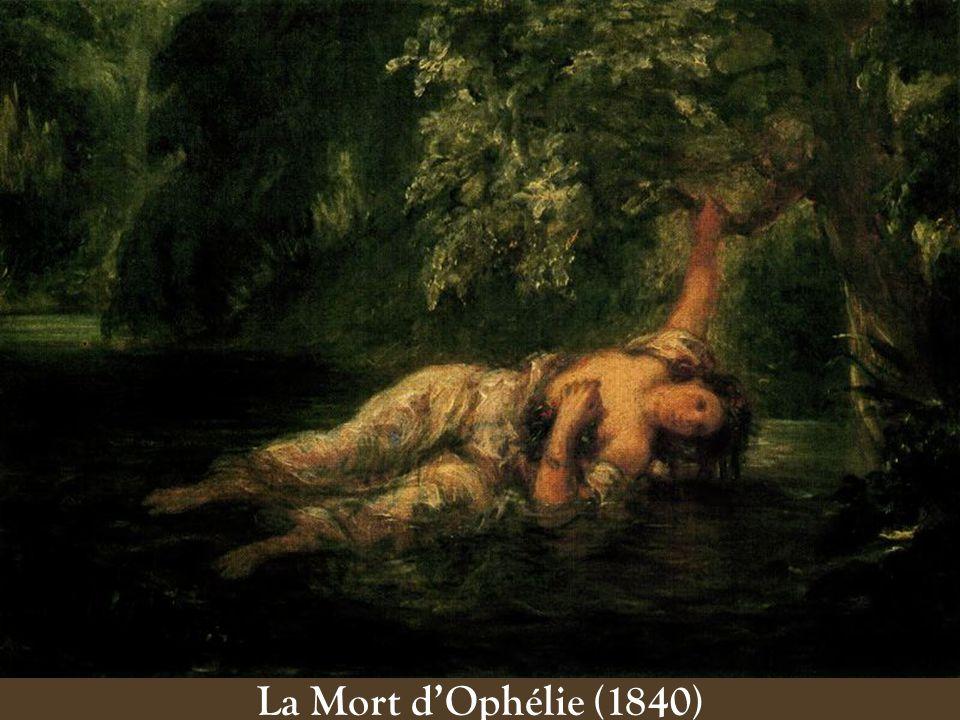 La Mort dOphélie (1840)