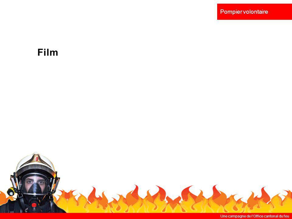 Une campagne de lOffice cantonal du feu Pompier volontaire Film
