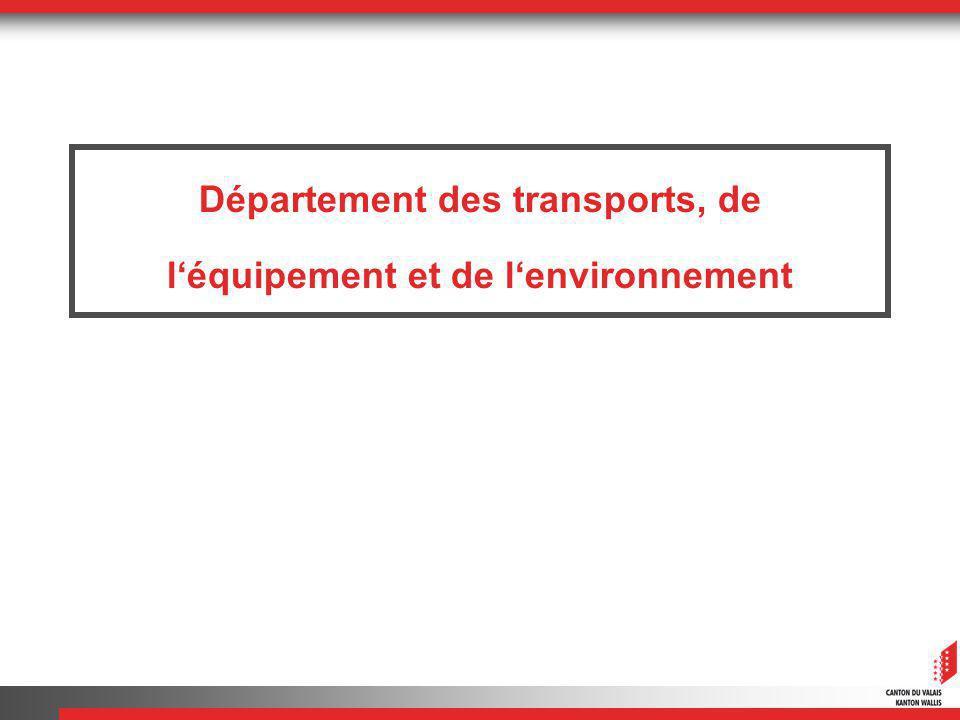 Département des transports, de léquipement et de lenvironnement