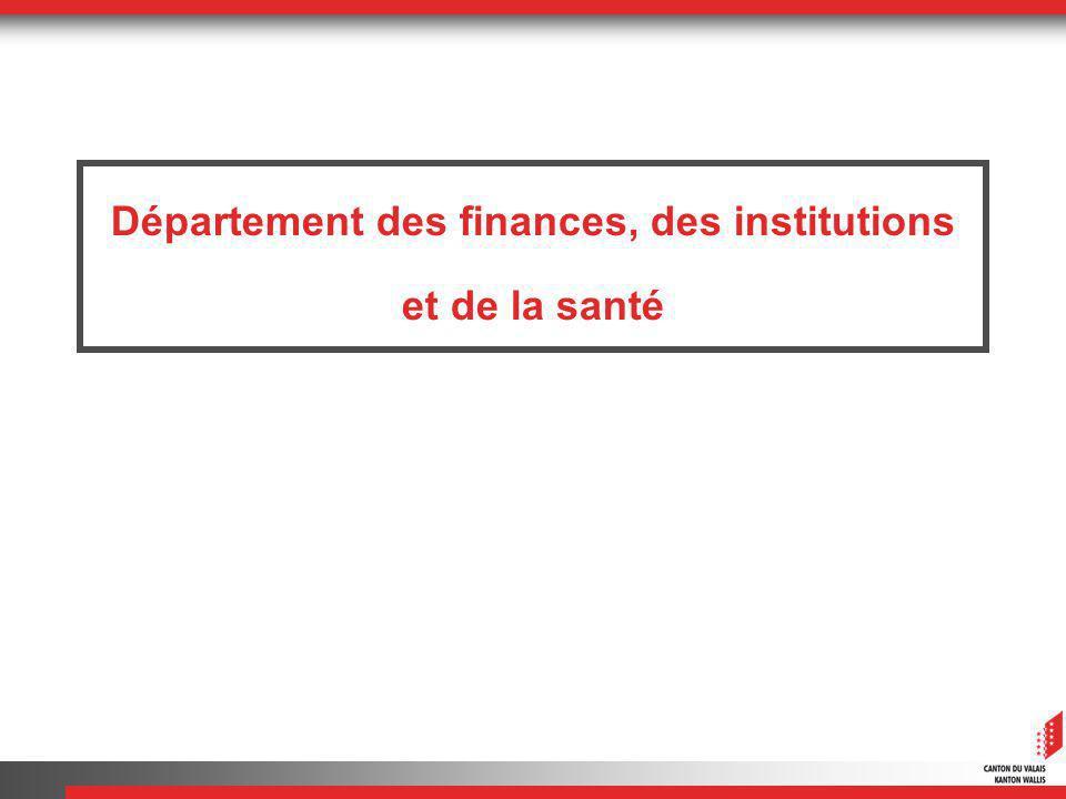 Département des finances, des institutions et de la santé