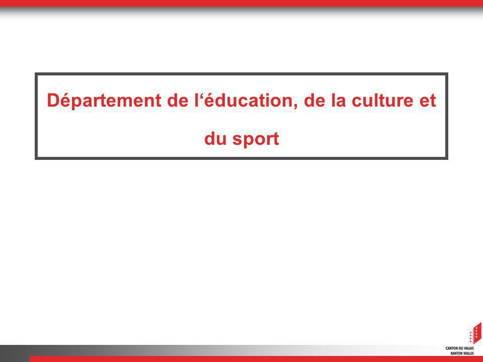 Département de léducation, de la culture et du sport