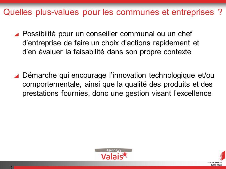 9 Quelles plus-values pour les communes et entreprises .