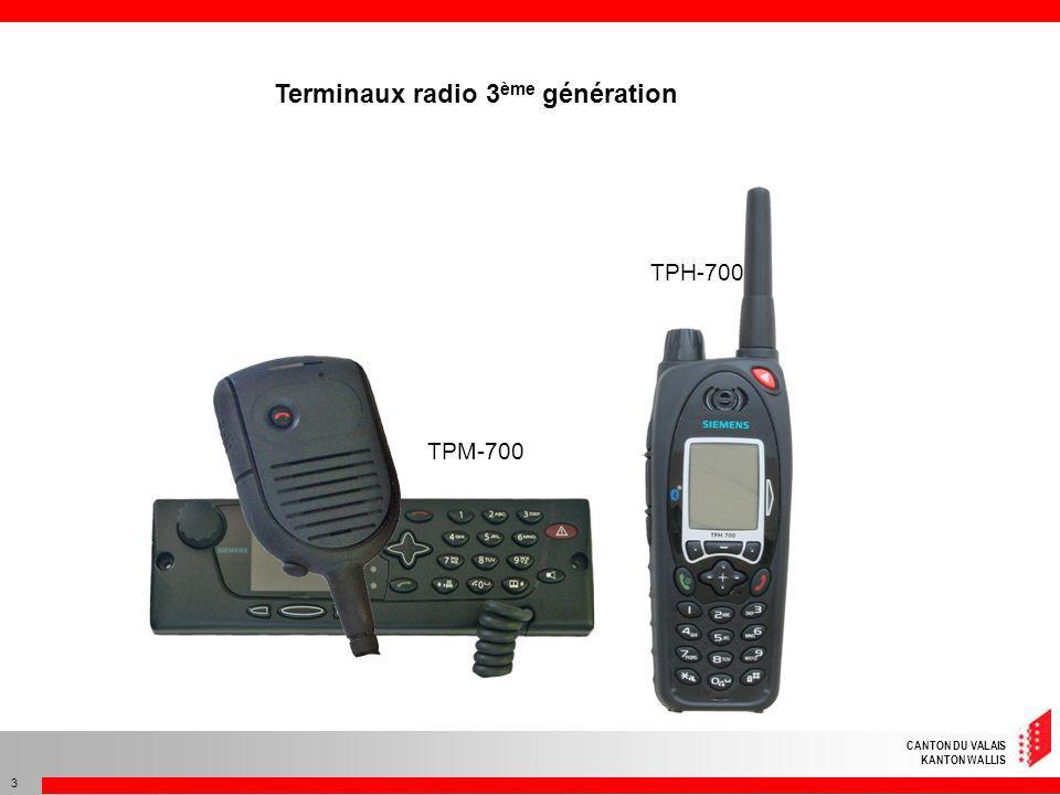 CANTON DU VALAIS KANTON WALLIS 34 Avant la synchronisation des clés G010 MenuAbc 10 Mode réseau / Groupe Mode réseau