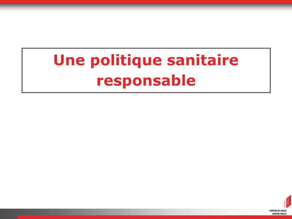 Une politique sanitaire responsable