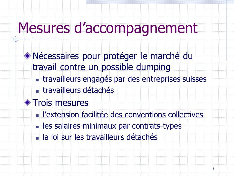 4 Lextension facilitée des conventions collectives En cas dabus, réduction à 30 % de la part des employeurs liés et des travailleurs occupés par les employeurs liés Amélioration et facilitation des possibilités de contrôle par les organes paritaires
