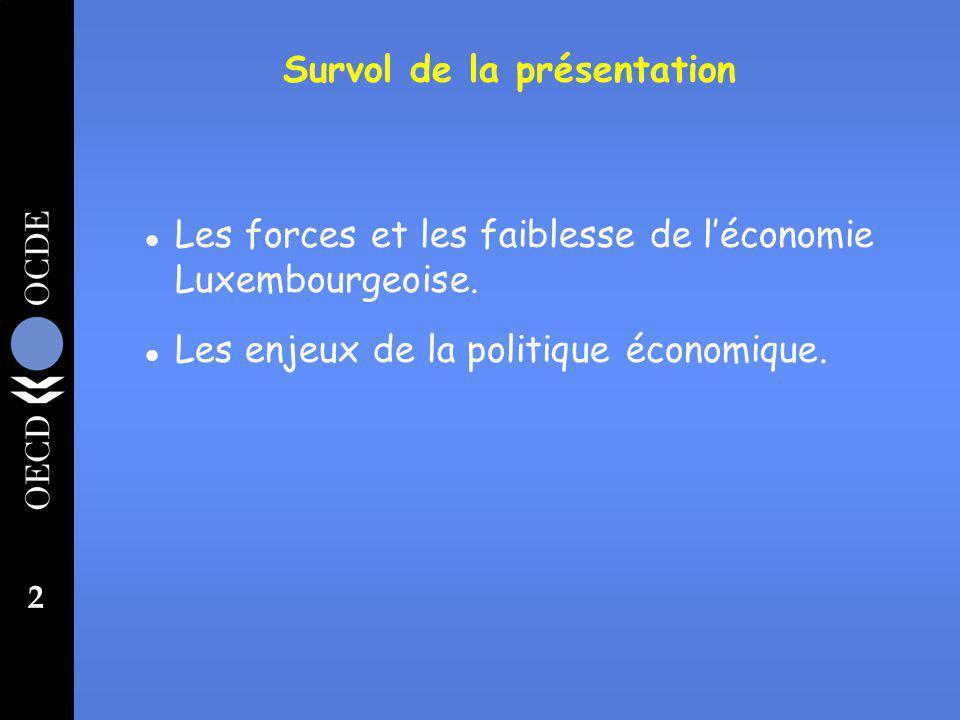 2 l Les forces et les faiblesse de léconomie Luxembourgeoise.