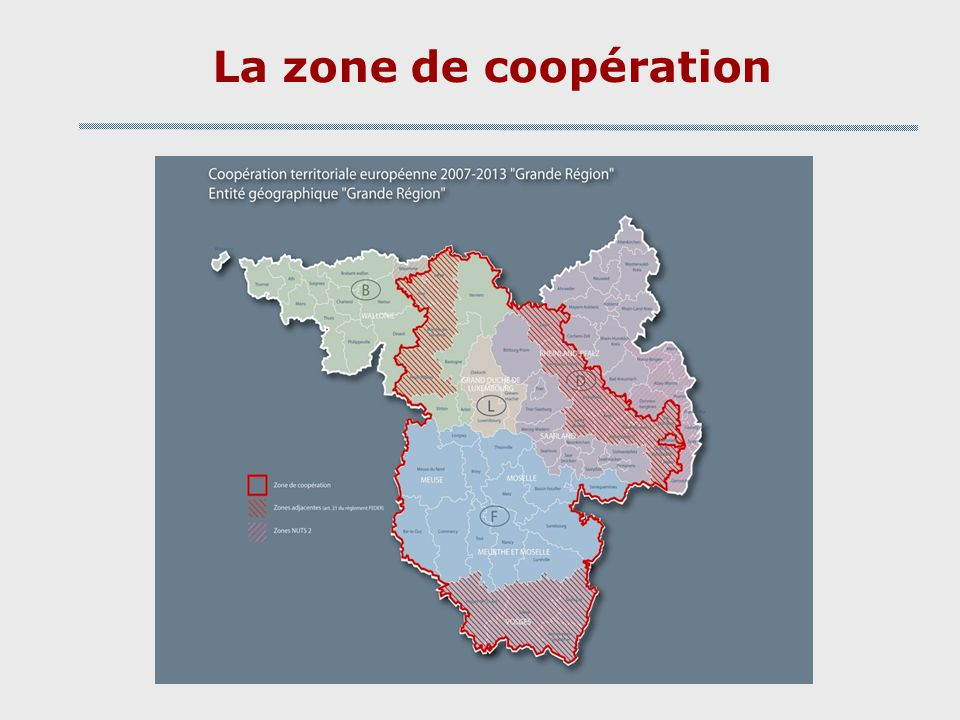 La zone de coopération