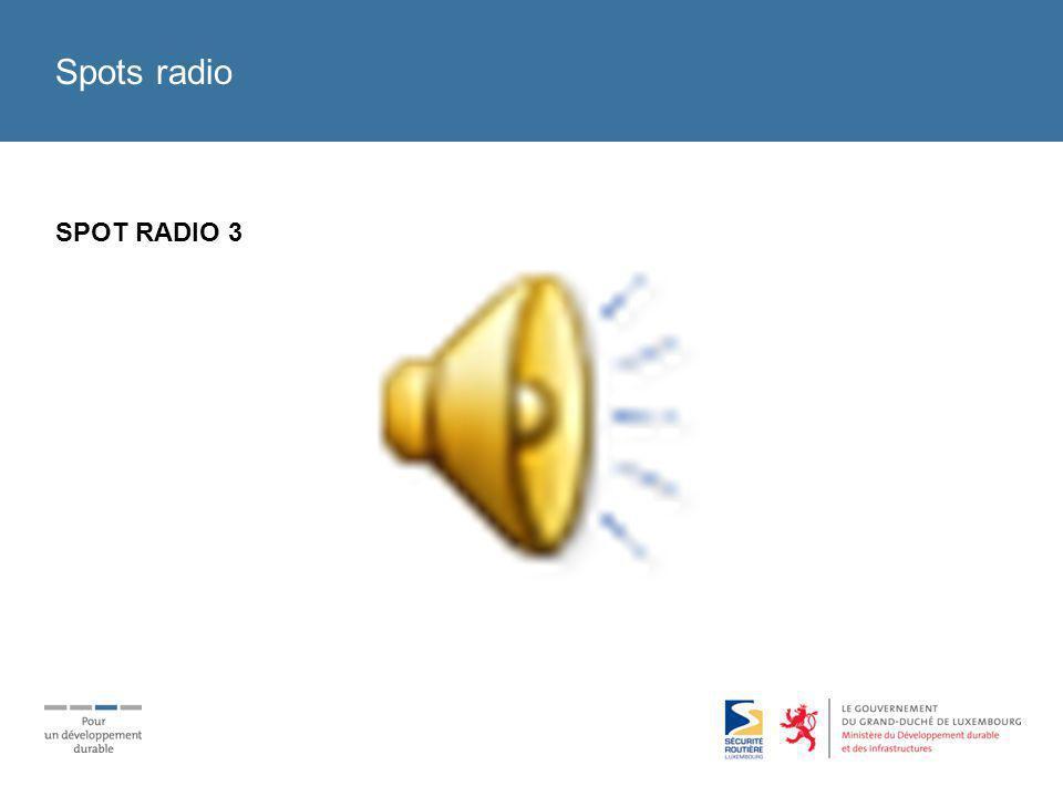 Spots radio SPOT RADIO 3